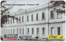 BRASIL K-130 Magnetic CTBC - Architecture, Historic Building - Used - Brésil