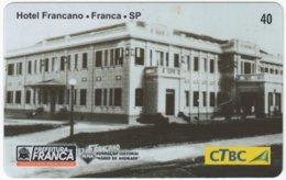 BRASIL K-131 Magnetic CTBC - Architecture, Historic Building - Used - Brésil