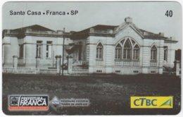 BRASIL K-133 Magnetic CTBC - Architecture, Historic Building - Used - Brésil