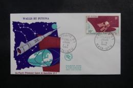 WALLIS & FUTUNA - Enveloppe FDC En 1966 - Satellite - L 47824 - FDC