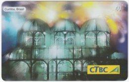 BRASIL K-141 Magnetic CTBC - Occasion, New Year, Landmark - Used - Brésil