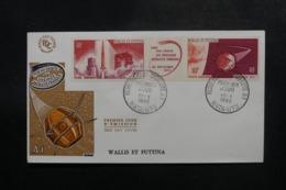 WALLIS & FUTUNA - Enveloppe FDC En 1966 - Fusée Et Satellite - L 47825 - FDC
