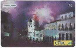 BRASIL K-148 Magnetic CTBC - Occasion, New Year, Landmark - Used - Brésil
