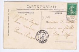 LOIRE-ATLANTIQUE - Cachet Manuel LE PALLET Du 11 AVRIL 09 - Cachets Manuels