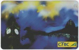 BRASIL K-159 Magnetic CTBC - Occasion, New Year, Landmark - Used - Brésil