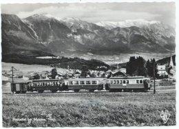 Innsbruck Tram Mutters Stubaital Tirol Lokalbahn Stubaitalbahn Tramway Strassenbahn Trolley Interurban 50er - Innsbruck