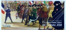 """Elu Plus Beau Bloc-Souvenir De 2018 """" CENTENAIRE De L'ARMISTICE Du 11 Novembre 1918 """" / SOUS BLISTER NEUF SUPERBE - Blocs Souvenir"""