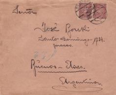 POLOGNE - ENVELOPPE CIRCULEE BIELSKO A BARRACAS, BUENOS AIRES, ARGENTINA. ANNEE 1930 -LILHU - 1919-1939 Republic