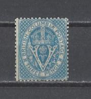 COLOMBIE BRITANIQUE. YT N° 6  Neuf Sans Gomme  1865 - Nuovi