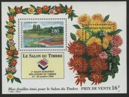 """BF 16 """"Le Salon Du Timbre 1994 Parc Floral De Paris"""". Cote 11 €. Neuf Sans Charnière **. TB - Blocs & Feuillets"""