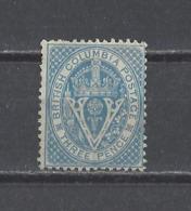 COLOMBIE BRITANIQUE. YT N° 6  Neuf Sans Gomme  1865 - British Columbia & Vancouver Island
