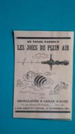 Ancienne Pub Revue Les Joies Du Plein Air Par Grosclaude Et Caran D'Ache - Pubblicitari
