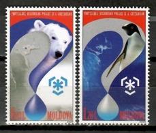 Moldova 2009 Moldavia / Polar Regions Birds Penguins Bears MNH Regiones Polares Osos Aves / Cu10019  38-1 - Pájaros
