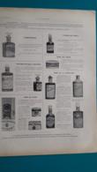 Ancienne Pub Parfum Et Lotion Lenthéric De 1897 - Pubblicitari