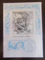 Carte 1er Jour éditée Par Thiaude - Poste Aérienne Saint Exupéry - Mermoz - Oblitération Du 19 Septembre 1970 - 1970-1979