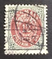 1875 Royal Emblem, 12 Øre, Danmark, Denmark, Danemark, *, ** Or Used - Usati