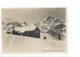 22786 - Diavolezza-Hütte Mit Piz Bernina Skieurs ( Format 10X15) - GR Graubünden