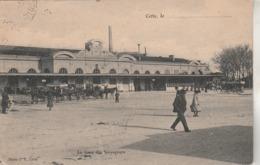 Hérault - SETE - CETTE - La Gare Des Voyageurs - Photo PR Cette - Sete (Cette)
