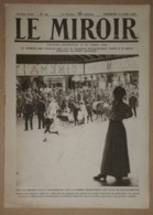 Le Miroir Du 23/07/1916 Tirailleurs Près De Cappy - Péronne - Bois De Vaux-Chapitre - Tavannes - Camp De Soltau - Kranten