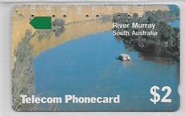 Carte Australie River Murray - Australie