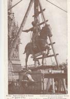 REIMS. - Enlèvement De La Statue De Jeanne D'Arc - War 1914-18