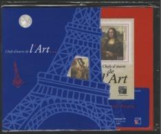 """BF 23 """"Chefs-d'oeuvre De L'Art PHILEXFRANCE 99 PARIS / SOUS BLISTER Cote 50 € Avec Laisser Passer / BLEU """". TB - Blocks & Kleinbögen"""