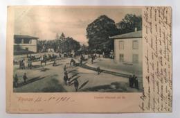 V 10925 Firenze - Cascine. Piazzale Del Re Nell'anno 1901 - Firenze