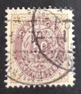 1895-1903 Royal Emblem, 50 Øre, Danmark, Denmark, Danemark, *, ** Or Used - Usati