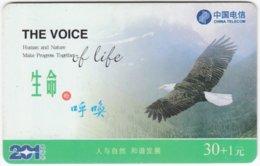 CHINA C-996 Prepaid ChinaTelecom - Animal, Bird, Eagle - Used - China