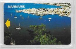 Carte Turquie Marmaris - Turquie