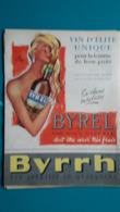 Ancienne Pub,vin D'élite Unique Byrel, De Byrrh - Pubblicitari