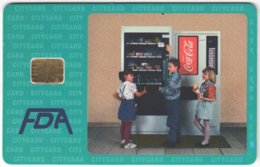 CZECH REP. D-423 Chip CityCard - Advertising, Drink, Coca Cola - Used - Tschechische Rep.