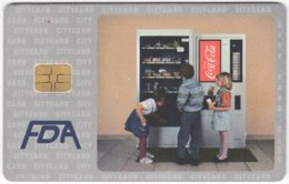 CZECH REP. D-424 Chip CityCard - Advertising, Drink, Coca Cola - Used - Tschechische Rep.