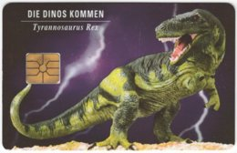 CZECH REP. D-432 Chip Ntl - Prehistoric Animal, Dinosaur - Used - Czech Republic