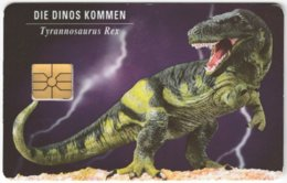 CZECH REP. D-433 Chip Ntl - Prehistoric Animal, Dinosaur - Used - Tschechische Rep.