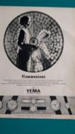 Ancienne Pub,montres Yema - Pubblicitari