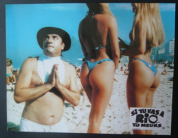 12 Photos Du Film Si Tu Vas à Rio… Tu Meurs (1987) - Albums & Verzamelingen