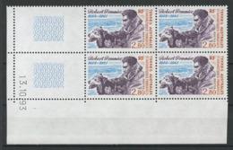 TAAF 1994 N° 188 ** Bloc De 4 Coin Daté Neuf MNH Superbe C 8.50 € Robert Pommier  Chiens Dogs Animaux Fauna - Französische Süd- Und Antarktisgebiete (TAAF)