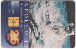 CZECH REP. D-480 Chip Telecom - Anniversary, Apollo 11 - Used - Tschechische Rep.