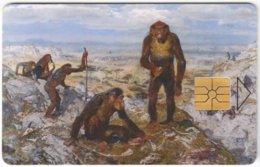 CZECH REP. D-493 Chip Telecom - Prehistoric Animal, Monkey - Used - Tschechische Rep.