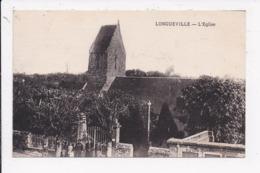 CP 50 LONGUEVILLE L'église - France