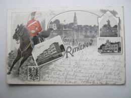 RATHENOW , Schöne Karte Um 1898 - Rathenow