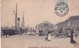 59-DUNKERQUE- QUAI DES VAPEURS DE GOOLE-ANIMÉE - Dunkerque