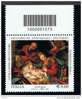 2009 - ITALY - ITALIA - ITALIE - BCB1273 - STAMP WITH BARCODE - CODICE A BARRE - TIMBRE AVEC LABS  ** - 1946-.. République