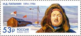 Russia 2019 150th Ann. Of Birth Of Ivan Papanin Polar Explorer 1v MNH - Neufs