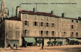 10007-2019     ST GIRONS   PLACE DU PLADELOU -  HOTEL DE FRANCE - Saint Girons