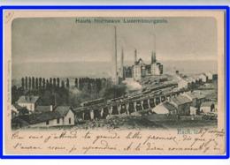23907  CPA  ESCH Sur ALZETTE  : Hauts Fourneaux Luxembourgeois !!  1900 !! ACHAT DIRECT !! - Esch-Alzette