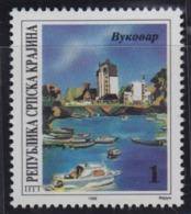 Croatia Republic Of Serbian Krajina 1996 Danube - River Of Cooperation, Vukovar, MNH (**) Michel 50 - Croatie