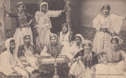 CP ALGERIE - FEMMES DANS LEUR INTERIEUR - Algérie