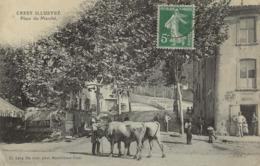 CREST  Place Du Marché  1905/20 - Crest